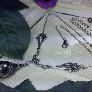 Tahitian Pearl Silver Necklace 4