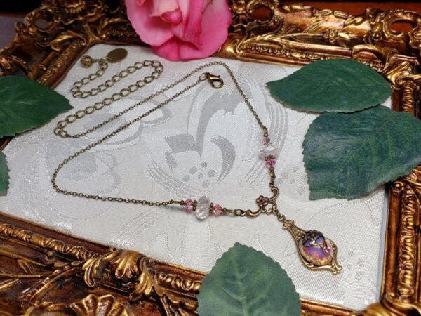 Pink Opal Necklace A1