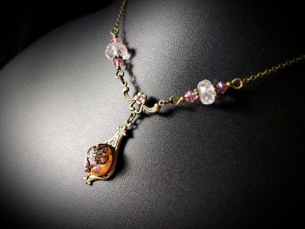 Pink Opal Necklace A2